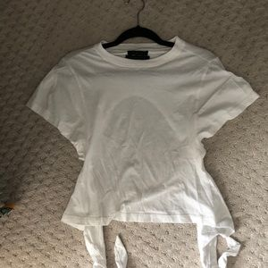 Urban Outfiters tie back top WORN ONCE